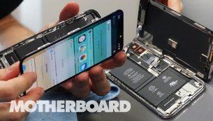 تعمیر برد آیفون XS Max با هزینه کم و کیفیت باورنکردنی در موبایل کمک
