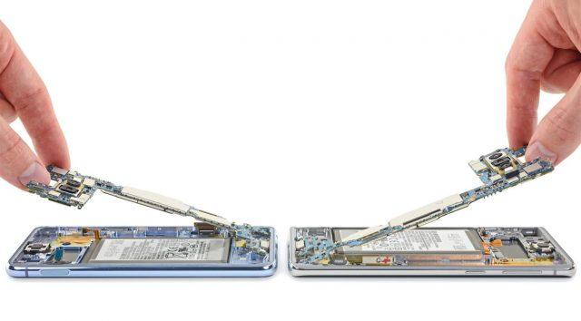 تعمیر برد سامسونگ Galaxy S10 با قیمت مناسب در شرکت موبایل کمک