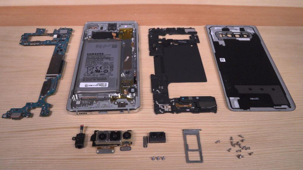 تعمیر قاب شکسته Galaxy S10+