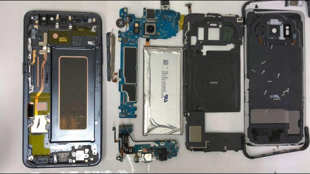 تعمیر ال سی دی گلکسی S8 Active