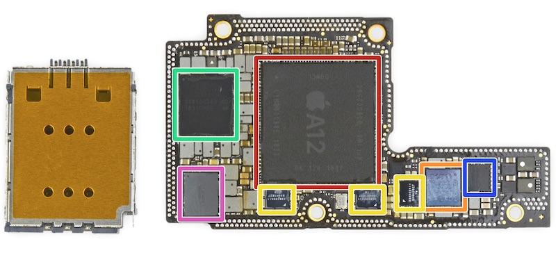تعمیر برد آیفون XS Max | نمایندگی اپل