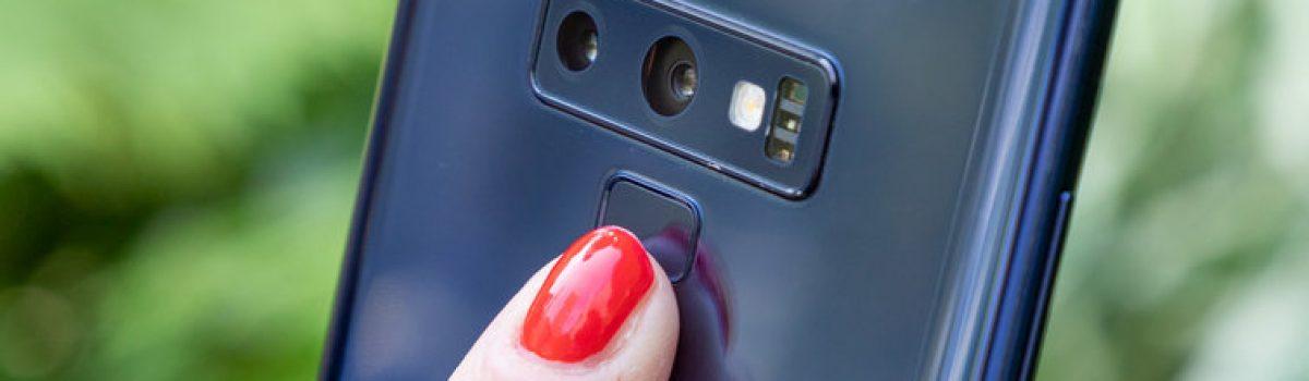 تعمیر اسکنر انگشت گلکسی نوت ۹ با کمترین قیمت در موبایل کمک