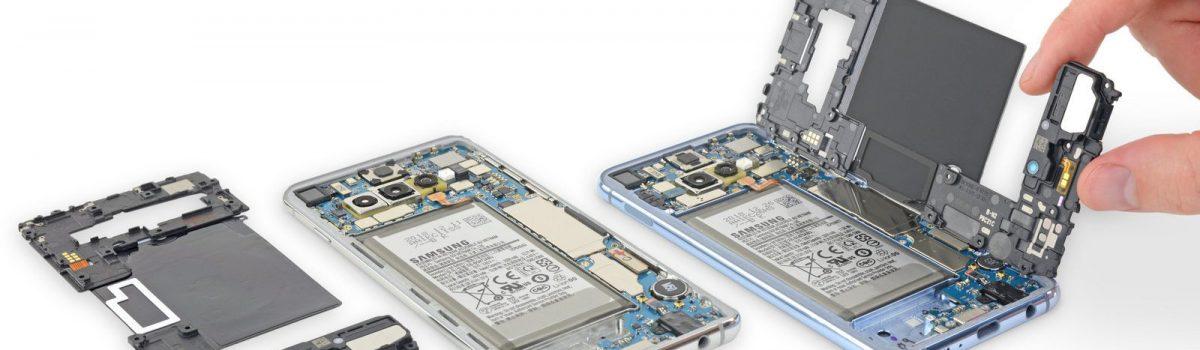 تعمیر ال سی دی گلکسی S10 با کمترین هزینه در موبایل کمک