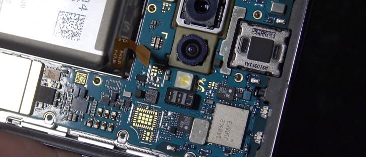 تعمیر دوربین گلکسی اس 10+