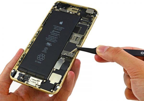 تعویض باتری iphone 6 اپل