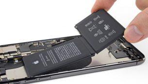 تعویض باتری گوشی موبایل آیفون