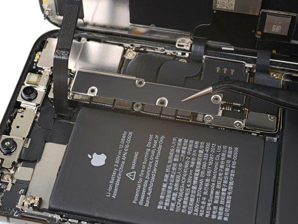 جداسازی براکت کانکتور باتری و سنسورهای جلو