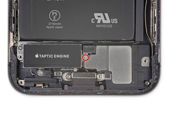 آزاد کردن کانکتور اسپیکر iPhone XS