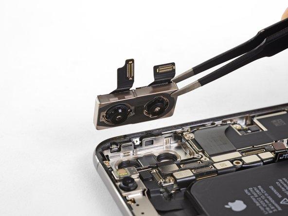 تعویض دوربین پشت iPhone XS اپل