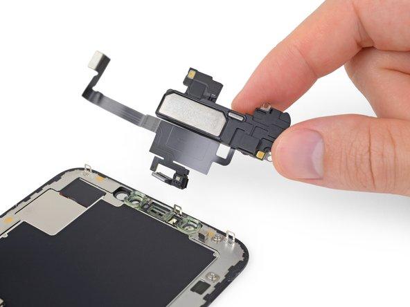 آموزش تعویض اسپیکر مکالمه iPhone XS Max