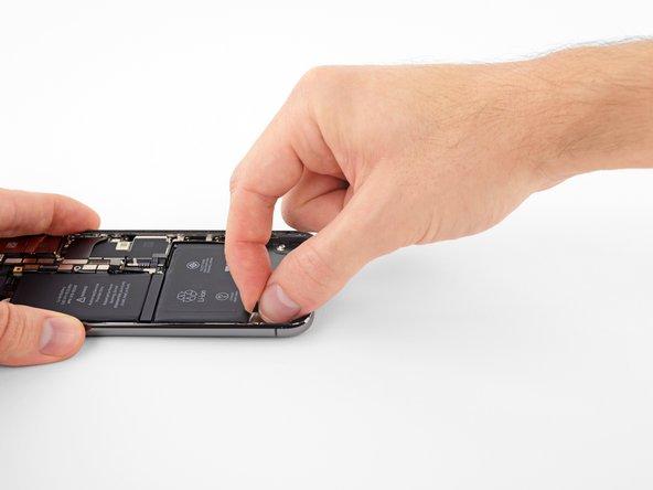 جداسازی اولین چسب لبه زیرین باتری