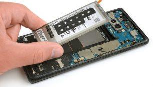 آموزش تعویض یا تعمیر باتری همه مدل های سامسونگ گلکسی نوت