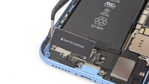آموزش تعویض موتور ویبره آیفون XR اپل