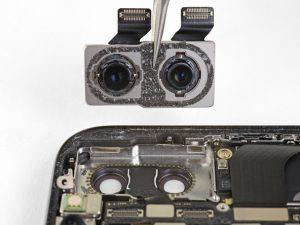 آموزش تعویض دوربین پشت آیفون X اپل