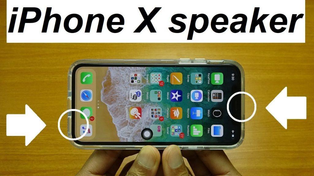 تعمیر اسپیکر آیفون X اپل