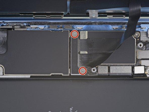 برداشتن براکت روی کانکتور LCD آیفون XR