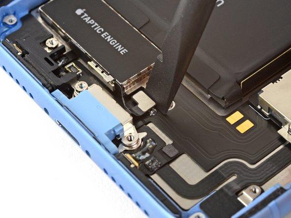 آزاد کردن کانکتور موتور ویبره (تپتیک) آیفون XR