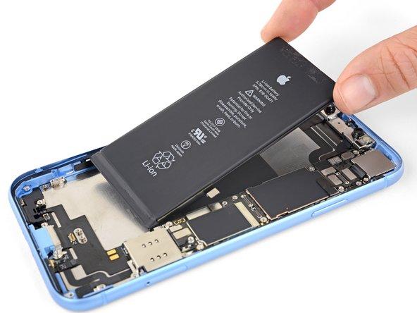 تعویض باتری iPhone XR اپل