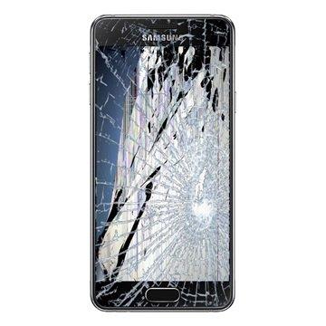 تعویض گلس یا شیشه شکسته سامسونگ گلکسی (A3 (2016