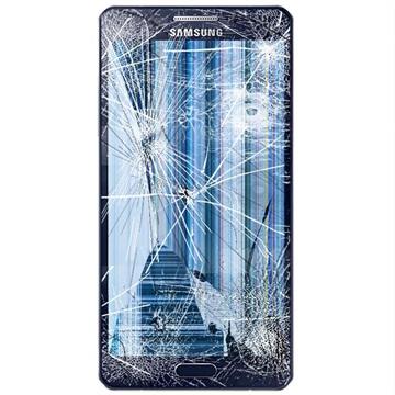 تعویض گلس یا شیشه شکسته سامسونگ گلکسی A5