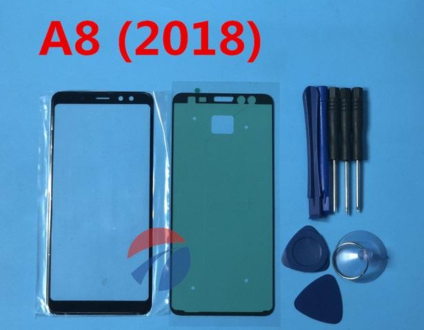 تعویض گلس یا شیشه شکسته سامسونگ گلکسی (A8 (2018