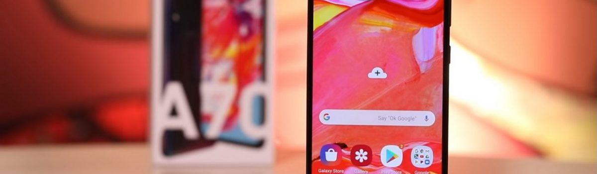 تعمیر یا تعویض ال سی دی Galaxy A70 | موبایل کمک