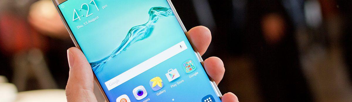 تعویض گلس یا شیشه ال سی دی S6 Edge Plus سامسونگ | موبایل کمک
