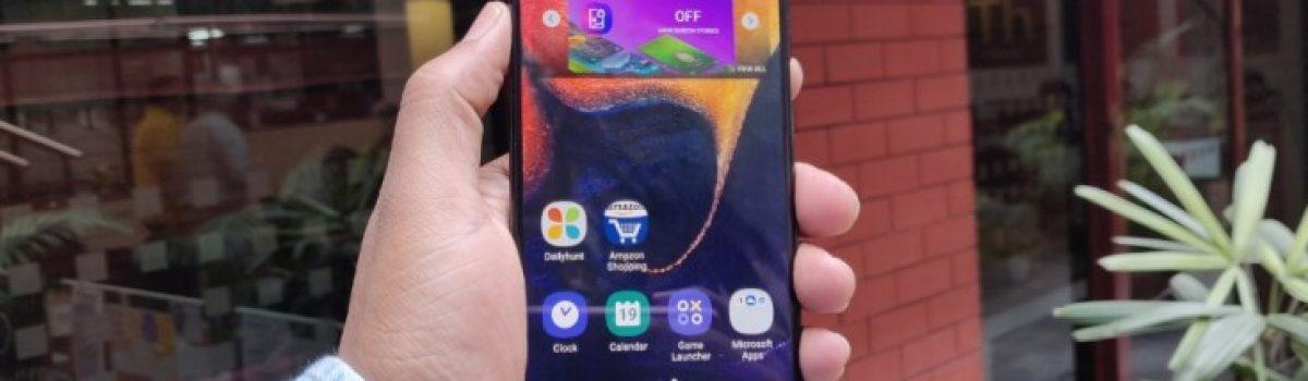 تعمیر LCD سامسونگ گلکسی A50 ظرف چند ساعت در موبایل کمک