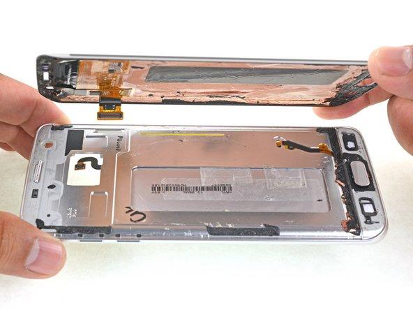 تعمیرات سامسونگ: آموزش تعویض ال سی دی Galaxy S7 Edge
