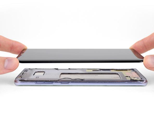 آموزش تعویض تاچ ال سی دی گلکسی S8 پلاس