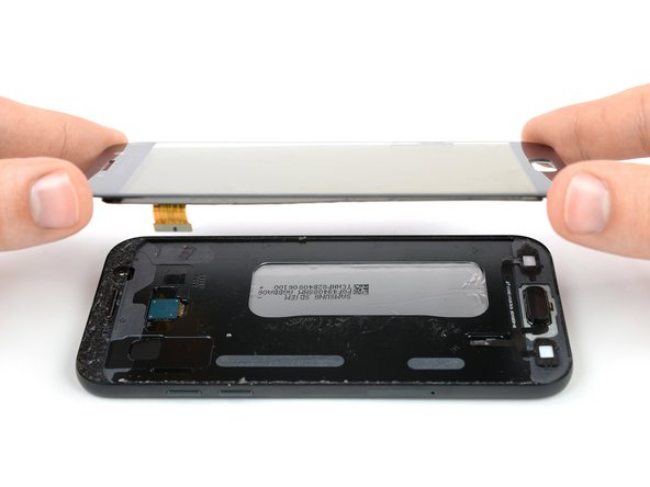 تعویض ال سی دی Galaxy A5 2017 سامسونگ