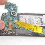 بلند کردن لبه فوقانی برد Galaxy S6 Edge Plus