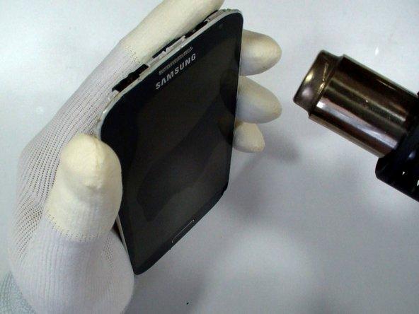 شل کردن لبه های ال سی دی Galaxy S4