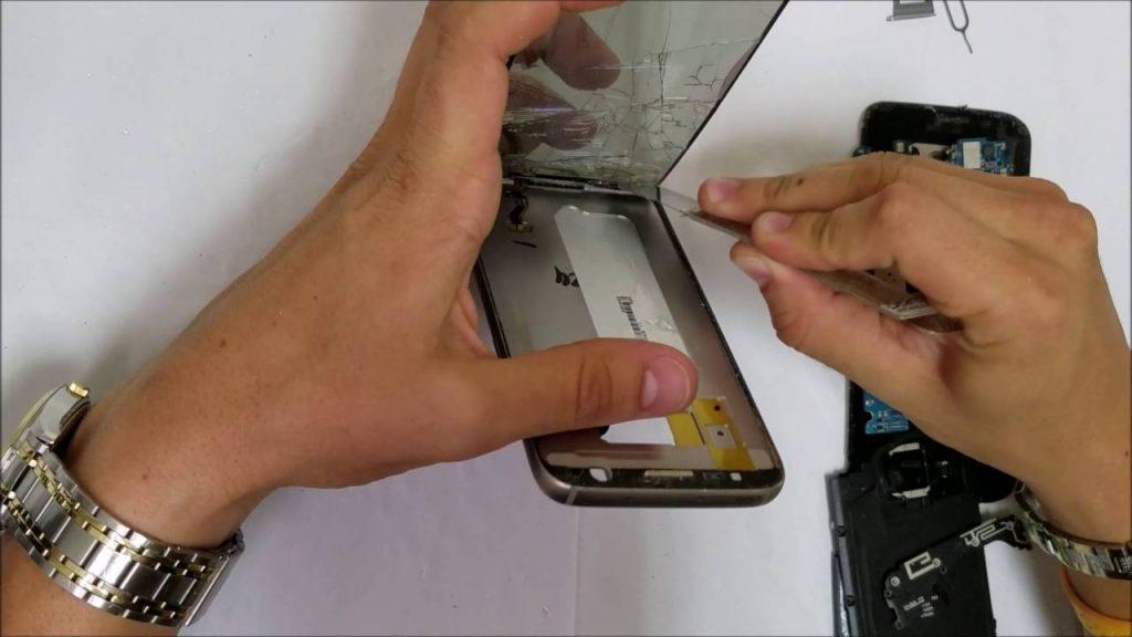 تعمیر ال سی دی Galaxy A70