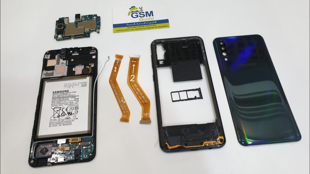 تعمیر LCD سامسونگ گلکسی A50