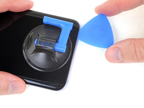 شل کردن لبه زیرین ال سی دی گلکسی S8 پلاس