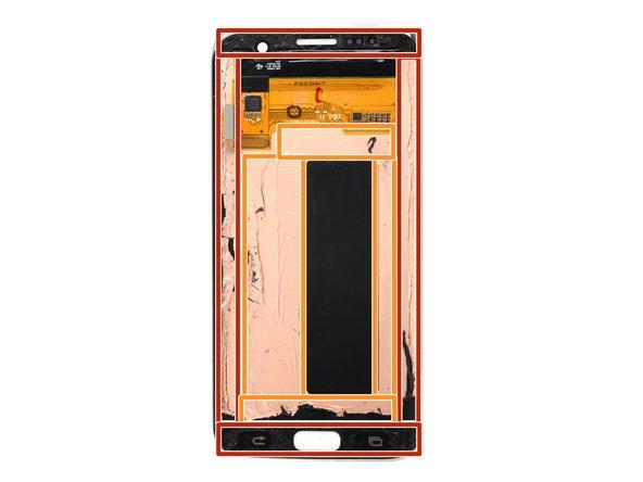 متعلقات LCD و چسب های آن