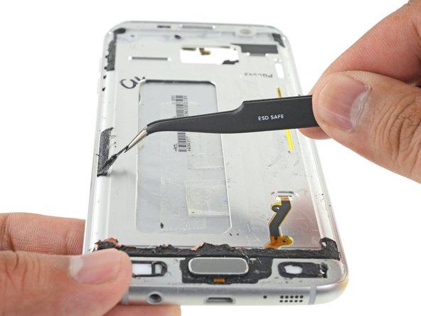تعویض ال سی دی Galaxy S7 Edge سامسونگ