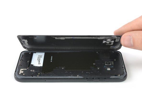 جداسازی قاب پشت Galaxy A5 2017