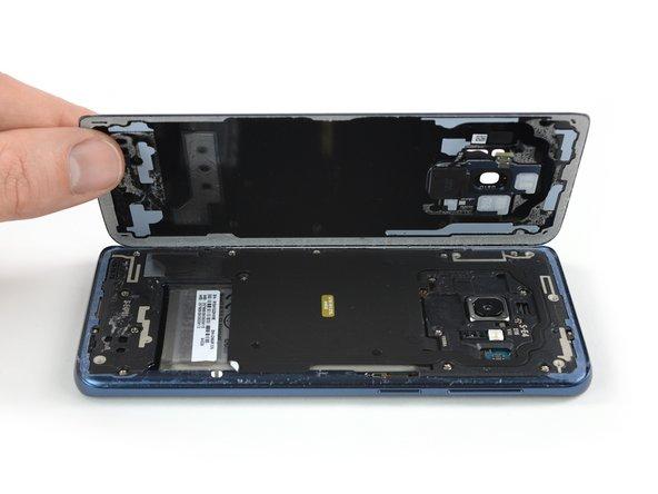 جداسازی قاب پشت Galaxy S9