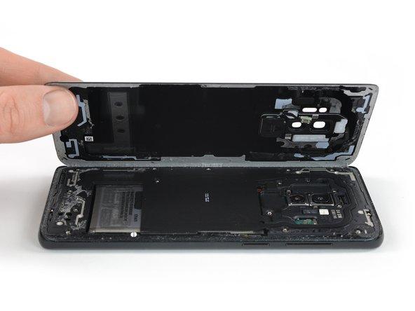 جداسازی کامل قاب پشت+Galaxy S9