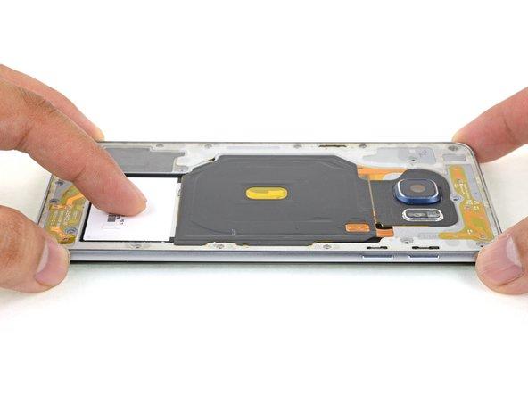 برداشتن فریم میانی +Galaxy S6 Edge