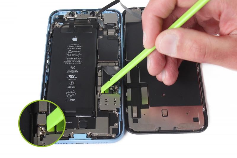 تعمیر برد آیفون XR   گارانتی اپل
