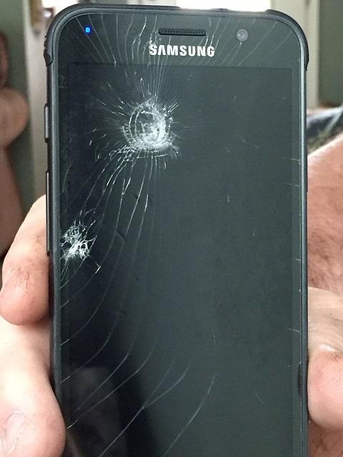 تعویض گلس یا شیشه شکسته سامسونگ گلکسی اس 7 اکتیو