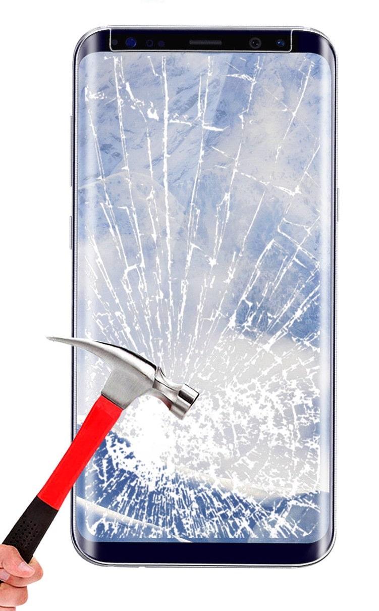 تعویض گلس یا شیشه شکسته سامسونگ گلکسی اس 9 پلاس