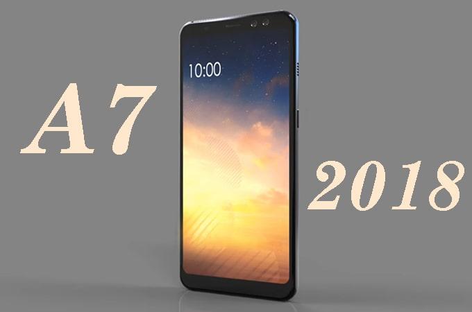 تعمیر LCD گلکسی A7 2018