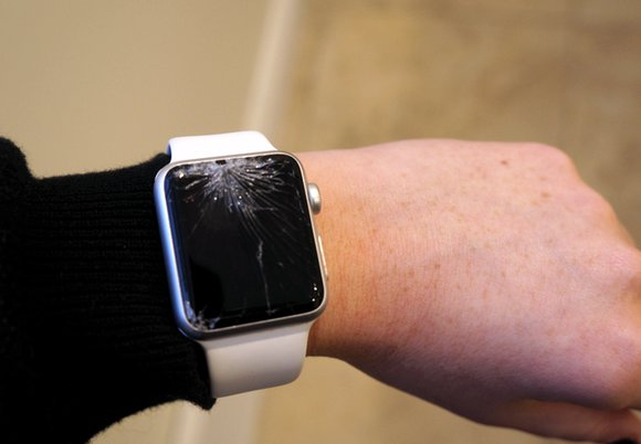 تعویض گلس اپل واچ 4 شکسته | تعمیر اپل واچ | نمایندگی اپل