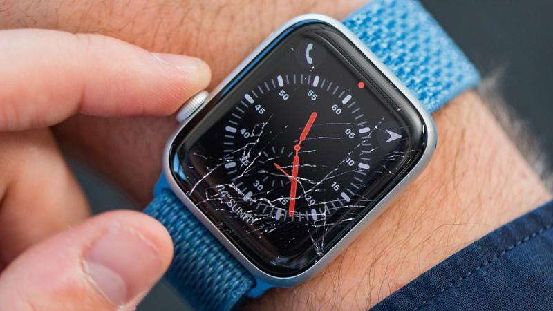 تعویض شیشه اپل واچ سری 1 | تعویض گلس شکسته | نمایندگی اپل