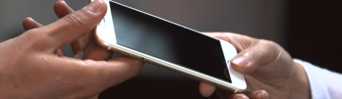 تعویض قاب پشت iphone 11