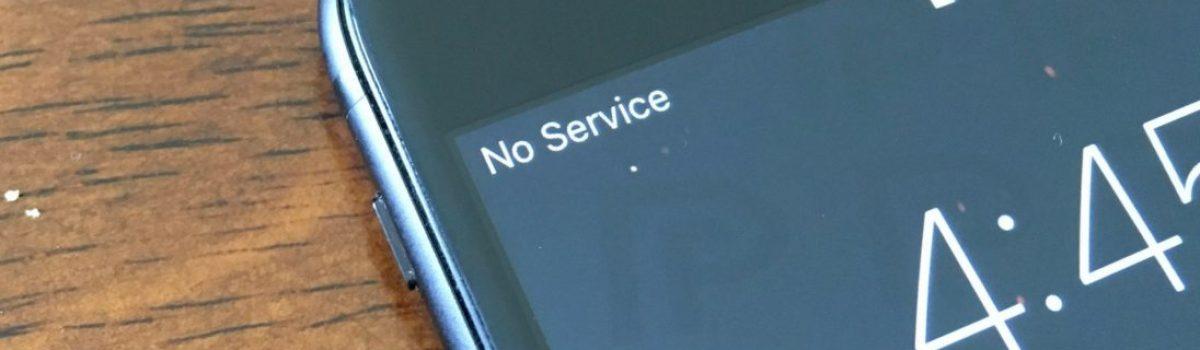 تعمیر پریدن آنتن آیفون اپل یا No Service